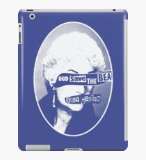 God Save the Bea (White) iPad Case/Skin