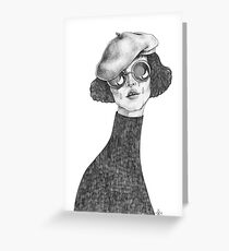 This is not Yoko Ono Greeting Card