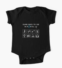 Dumb ways to die in Portal One Piece - Short Sleeve