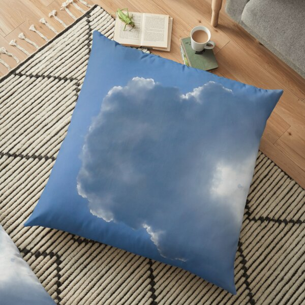 inhale...exhale-clouds collection Floor Pillow