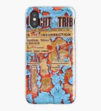 Connacht Tribune 1916 iPhone Case/Skin