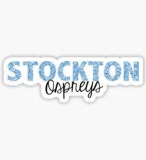 Stockton University - Ospreys Sticker