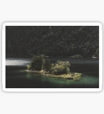 Island Love - Landscape Photography Sticker