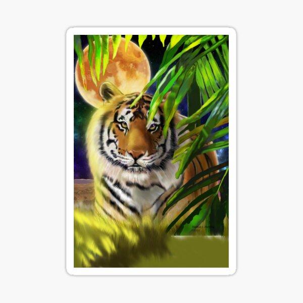 #3 of 5 Big Cat Series - Bengal Tiger Sticker