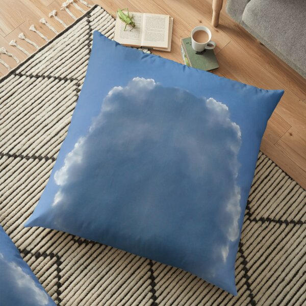 Through the clouds Floor Pillow