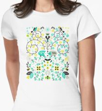 Hedgehog Lovers Women's Fitted T-Shirt