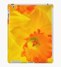 Bright Daffodil SQ  iPad Case/Skin