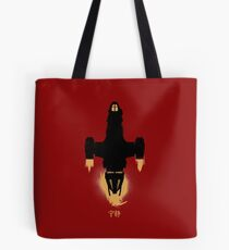 Big Damn Heroes - Updated Firefly / Serenity Silhouette Tote Bag