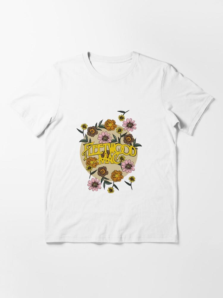 Alternate view of Fleetwood flowers Mac  Essential T-Shirt