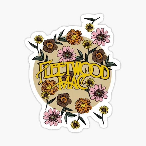 Fleetwood flowers Mac  Sticker