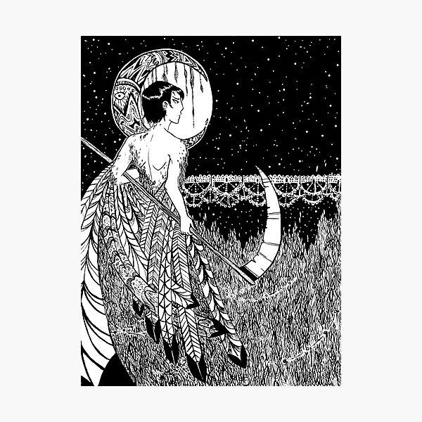 Markos - Bird Print Photographic Print