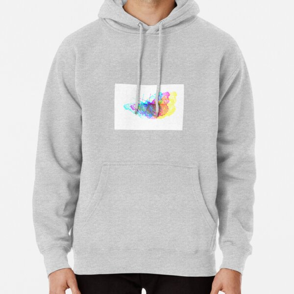 Butterfly Colorful Meadow Pullover Hoodie