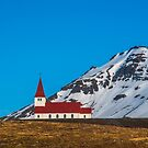 Vik Church Iceland by Chris Thaxter