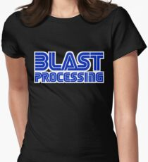 Blast Processing Women's Fitted T-Shirt
