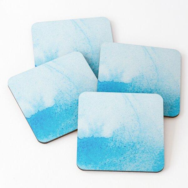 Copy of Blue Solid Color Decor Coasters (Set of 4)