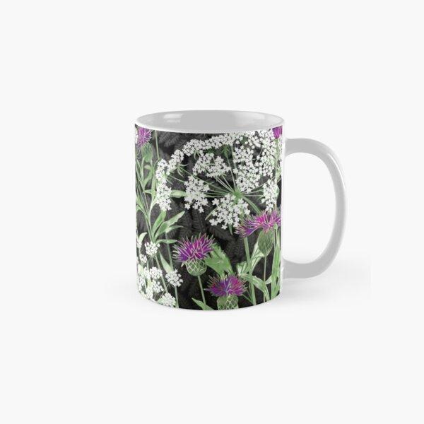 Wild Flowers - Knapweed, Ammi & Bracken Ferns Classic Mug