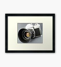 Photographic camera Framed Print