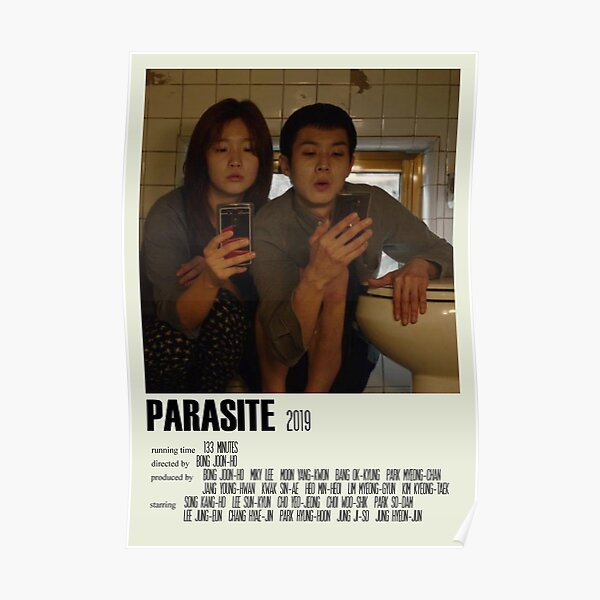Parasite Alternative Poster Art Movie Large (1) Poster