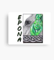 Epona Celtic Goddess Canvas Print