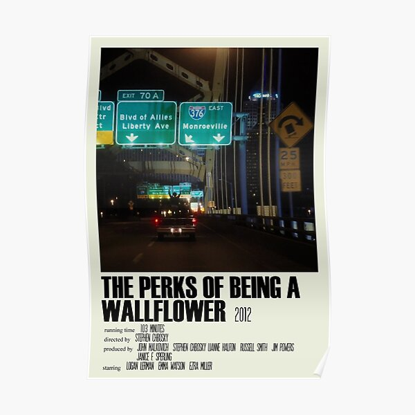 The Perks of Being a Wallflower Alternative Poster Art Movie Large (1) Poster