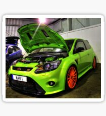 Green Focus in HDR Sticker