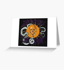 Stoned Jesus Artwork Greeting Card