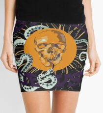 Stoned Jesus Artwork Mini Skirt