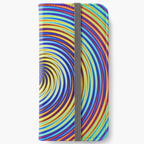 Colour Spiral iPhone Wallet