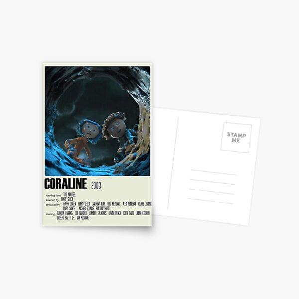 Coraline Alternative Poster Art Movie Large (2) Postcard