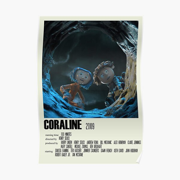 Coraline Alternative Poster Art Movie Large (2) Poster