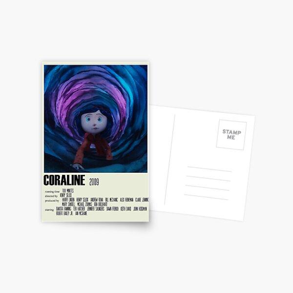 Coraline Alternative Poster Art Movie Large (1) Postcard