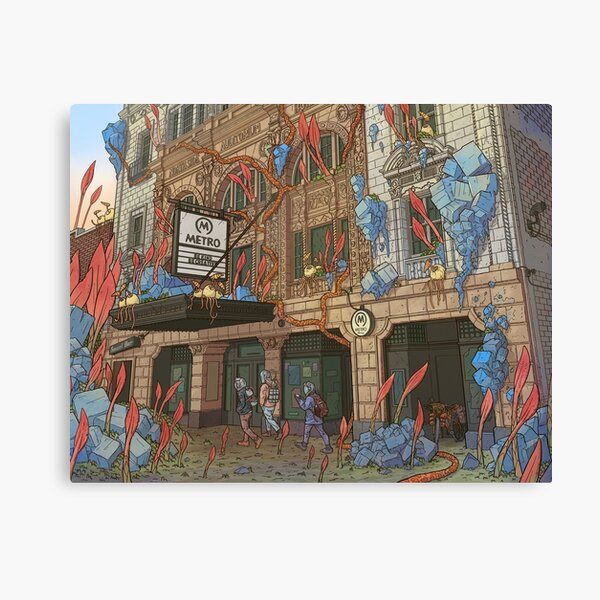 Metro Chicago Canvas Print