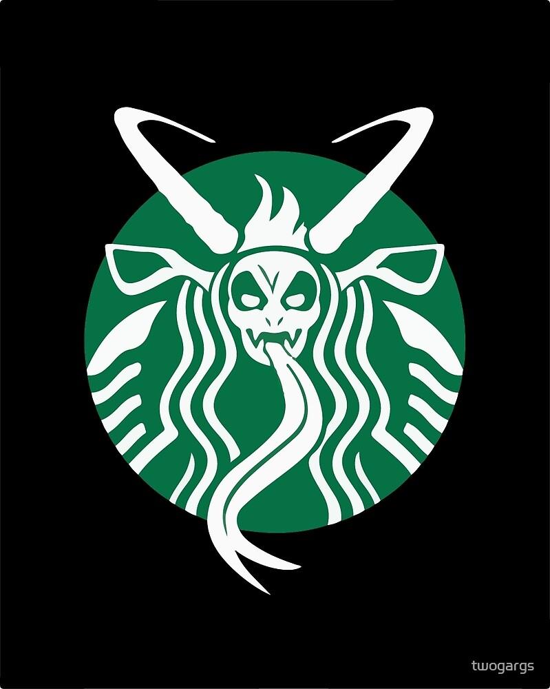 Krampuspresso - Caffeine Demon (BLACK) by twogargs