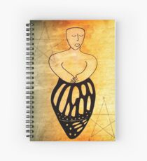 The Hanged Woman Spiral Notebook
