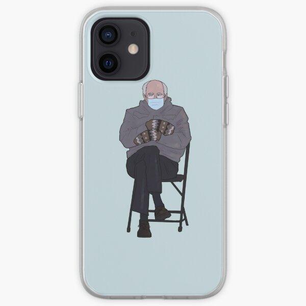 Bernie's Mittens iPhone Soft Case