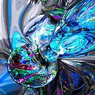 Ice Majesty Abstract by Alexander Butler