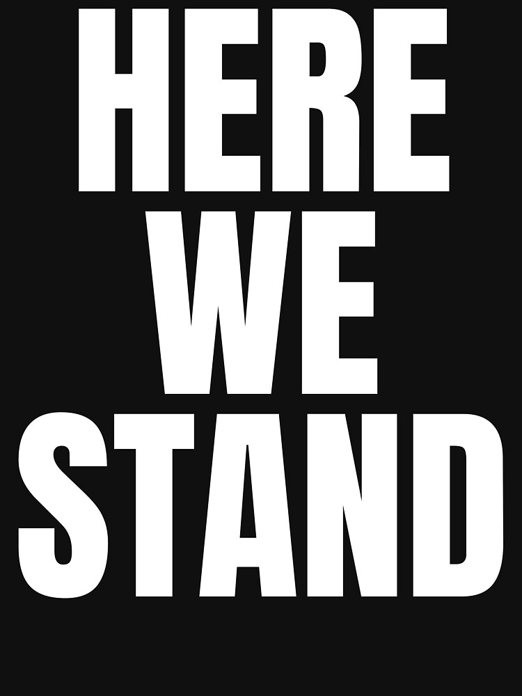 Here we stand,Joe Biden Inauguration Speech by ds-4