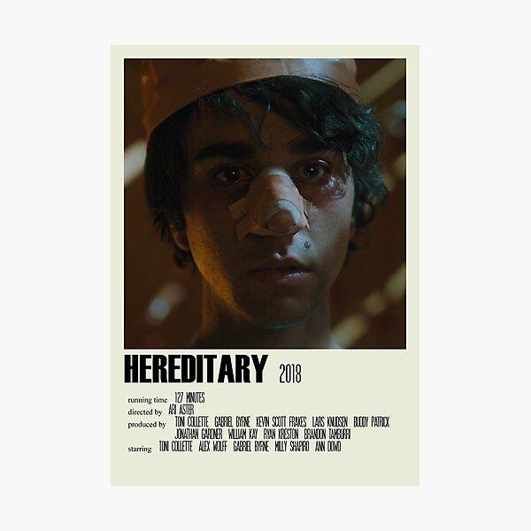 Hereditary Alternative Poster Art Movie Large (1) Photographic Print