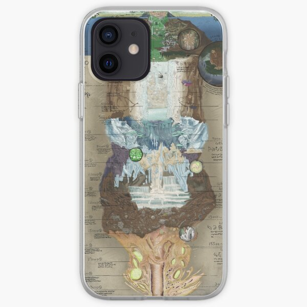 Made in Abyss • Abyss Chart iPhone Soft Case