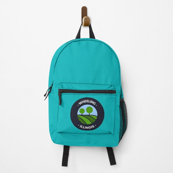 Wheeling Illinois Hills and Trees Backpack
