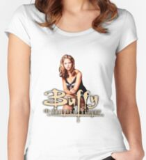 Buffy, The vampire slayer Women's Fitted Scoop T-Shirt