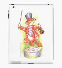 Fantastic Mr Foxy on the violin iPad Case/Skin