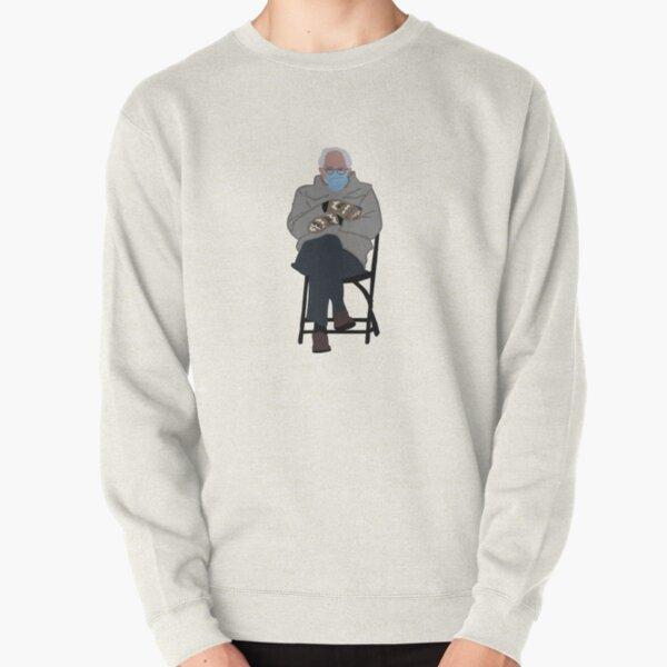 bernie sanders inauguration mittens Pullover Sweatshirt