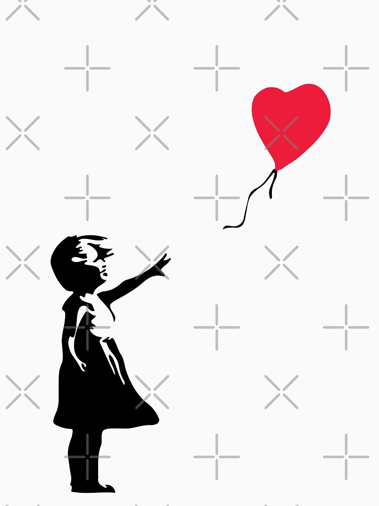 """Girl With Red Balloon - Banksy """"self-destructs"""" painting by Slobitka"""