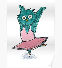 Owl ballet Poster
