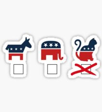 The Cat Party Sticker