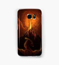 Dragon Born, Volcano Dragon Samsung Galaxy Case/Skin