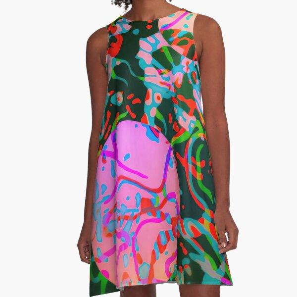 BACTERIA A-Line Dress