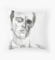 His Death Wish Throw Pillow