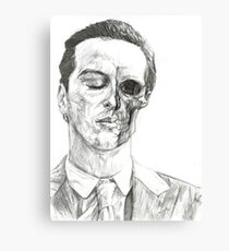 His Death Wish Canvas Print